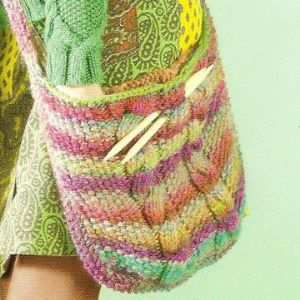 MILLE COLORI TOTE BAG Free Pattern